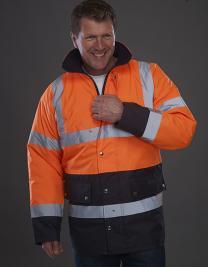 Hi-Vis Two-Tone Motorway Jacket