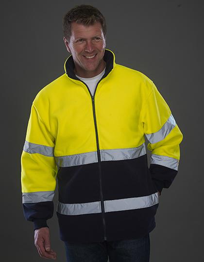 Hi-Vis 2 Bands 2-Tone Fleece Jacket